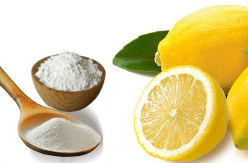 Baking Soda with Lemon Juice for Warts