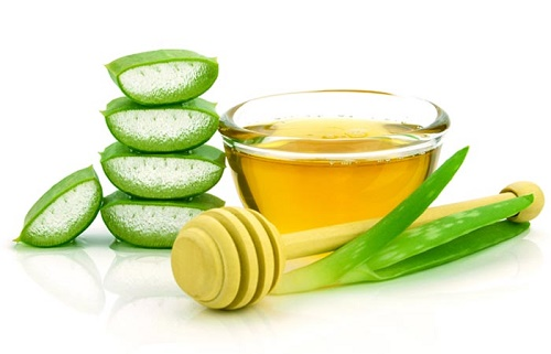 Castor Oil with Aloe Vera Gel for Warts